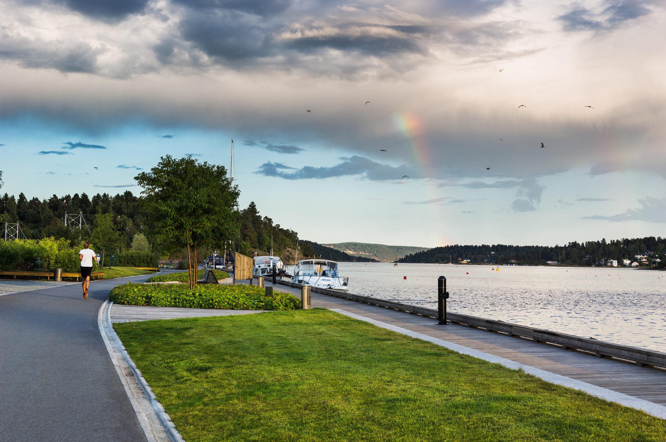 Sandvika Elvepromenade